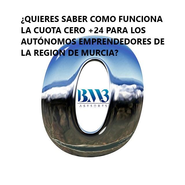 Asesoría Murcia - Cuota cero de Murcia para autónomos emprendedores - BM3 Asesores