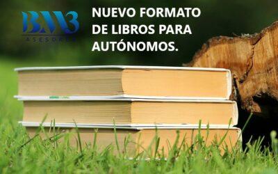 Nuevo formato de registro de libros para autónomos
